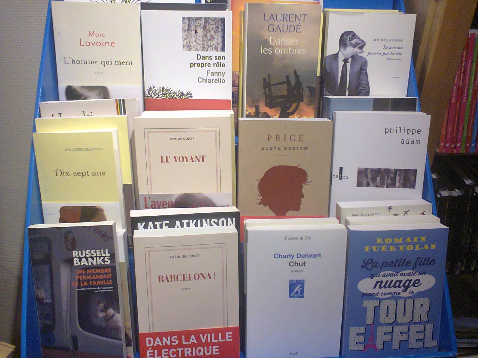 table librairie